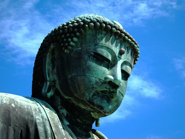 The great buddha (daibutsu) of Kamakura in Japan | pic: Otota DANA