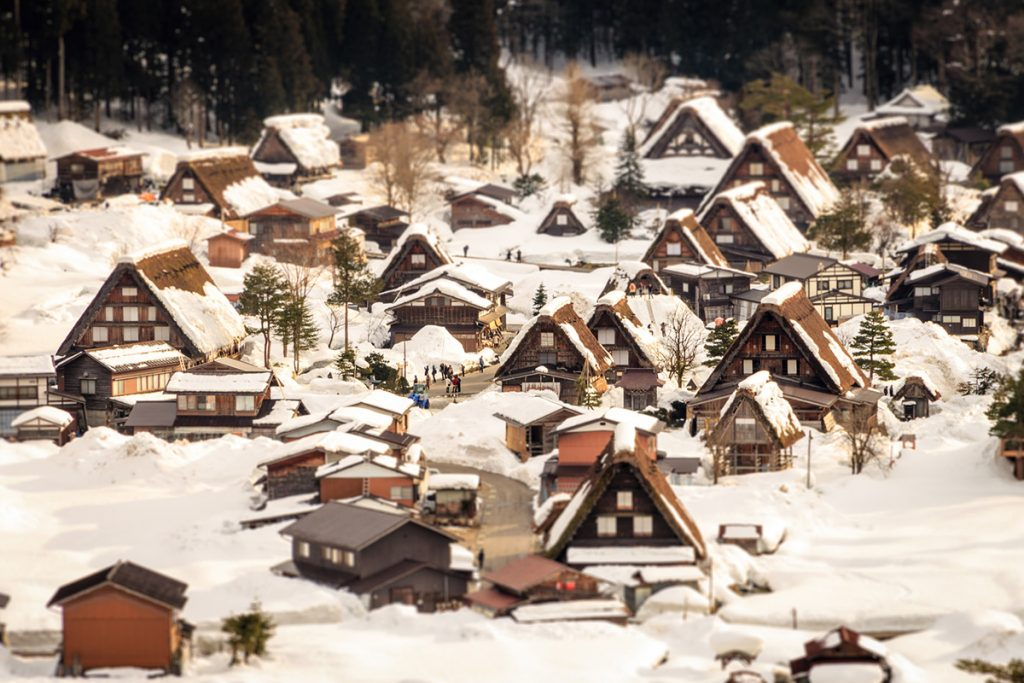 One of the best things to do in Japan: visiting shirakawa-go in winter | pic: Reginald Pentinio
