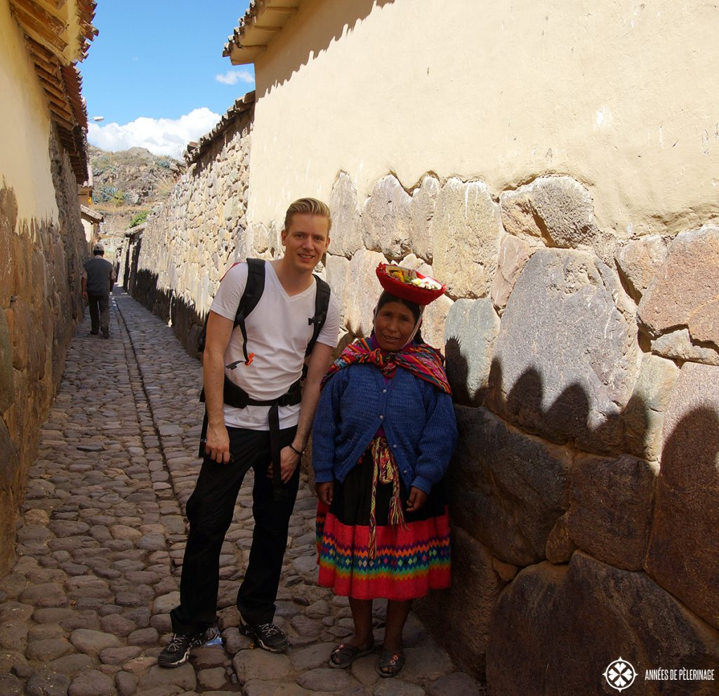 Big cobbled stones in Peru. so pack comfortable shoes and skip the flip flops and high heels