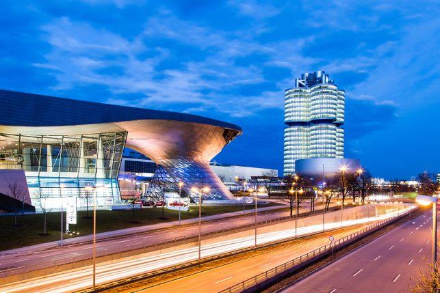 BMW World in Munich Germany