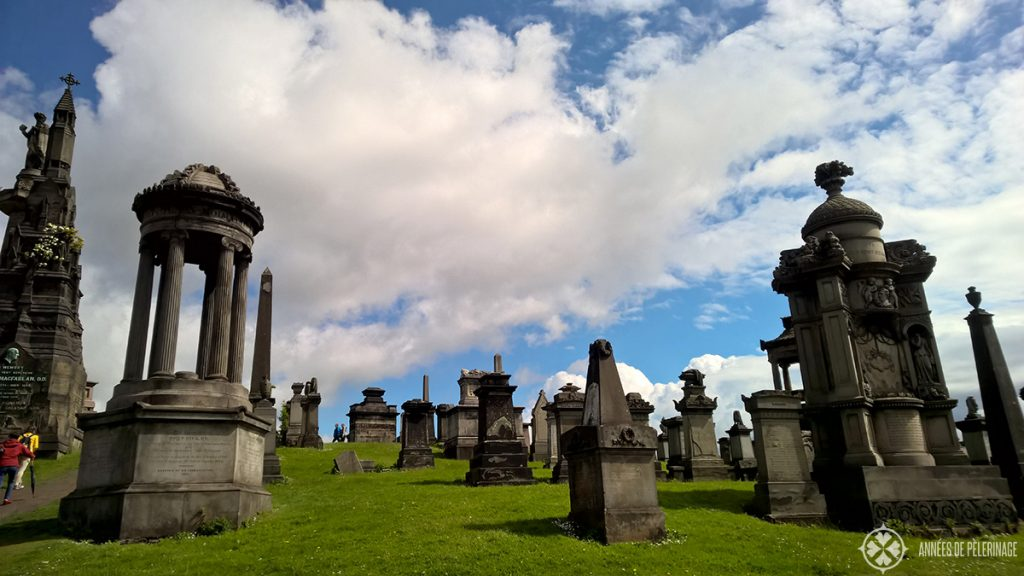 The glasgow necropolis - one of the most beautiful graveyards in the world