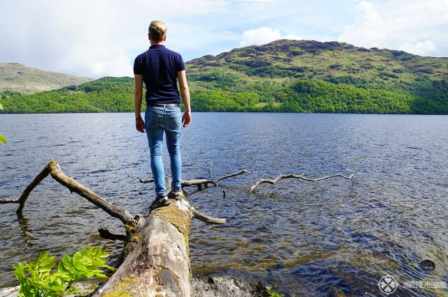 Definitely put good walking shoes on your packing list for Scotland