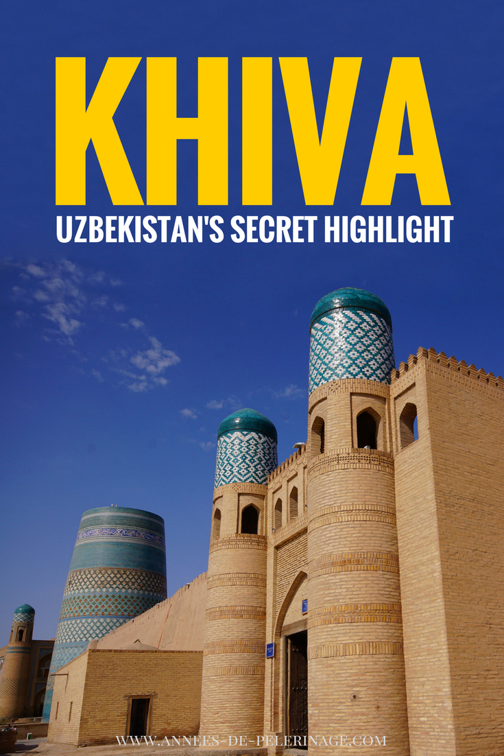 Khiva in Uzbekistan is a super secret insider tip. The city is beyond amazing. If you travel to Uzbekistan, then Khiva is a must visit. Click for more information
