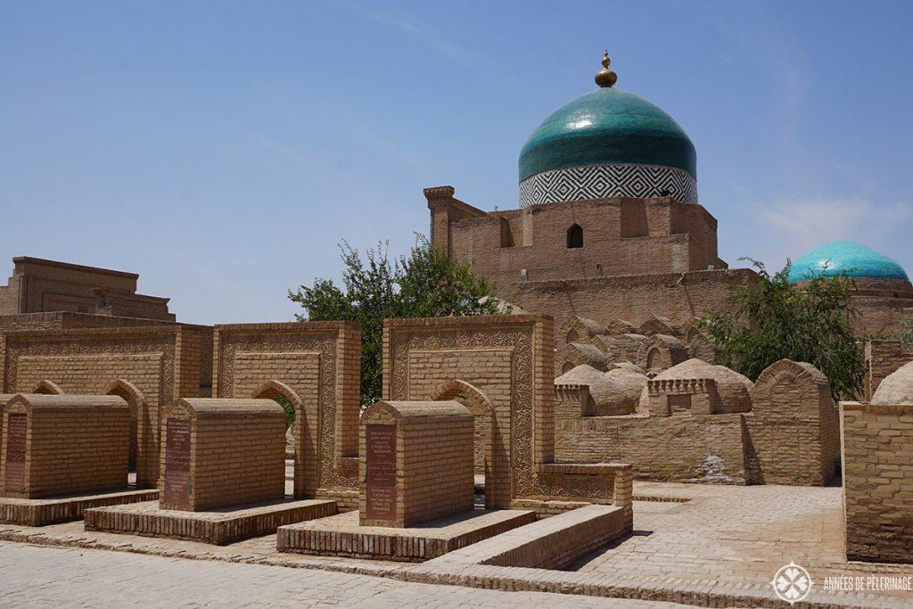 Pakhlavan Mahmud Complex in Khiva, uzbekistan