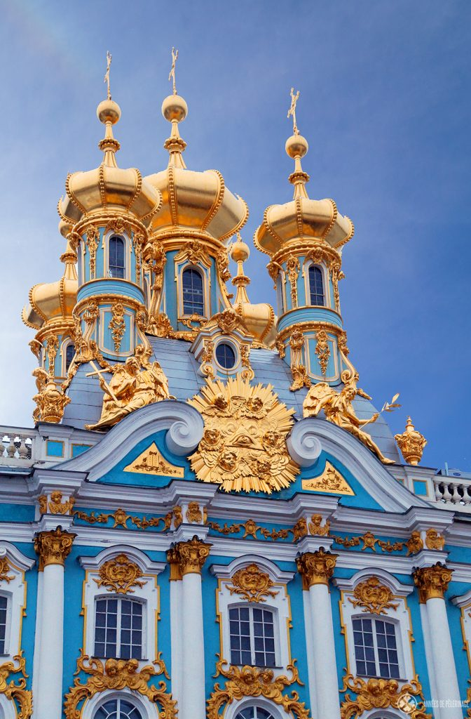 The Catherine Palace in St. Petersburg, Russia