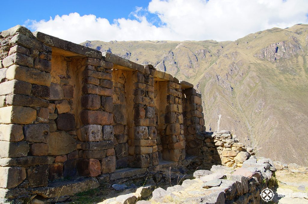 The intihuatana temple in Ollantaytambo, Peru