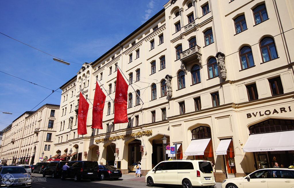 The Kempinski vier Jahreszeiten hotel - one of the best hotels near Marienplatz Munich