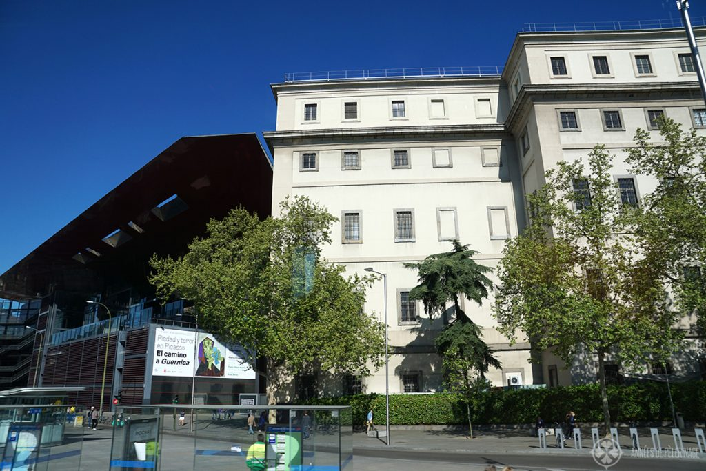 The Reina Sofia Museum in Madrid, Spain for modern and contemporary art