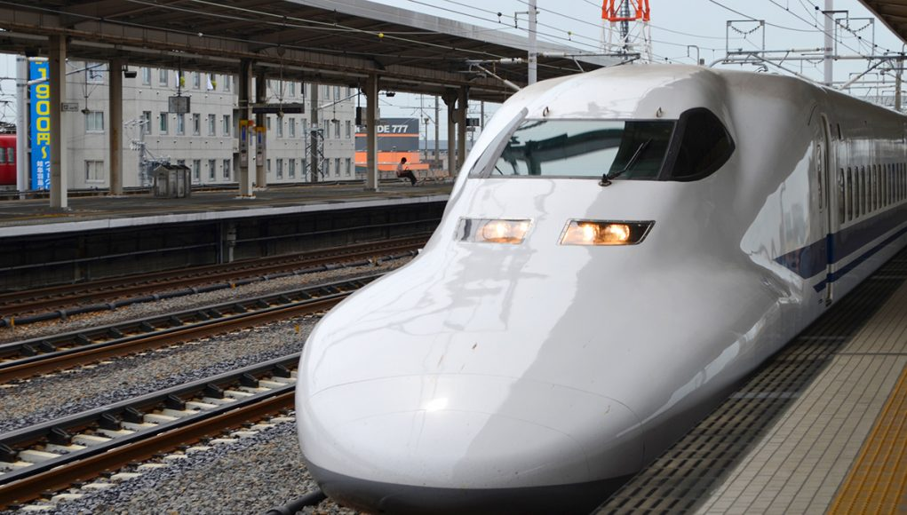 Taking the train from Kyoto to Nara on a day trip