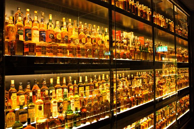 The Scotch whiskey Experience is a must see in Edinburgh