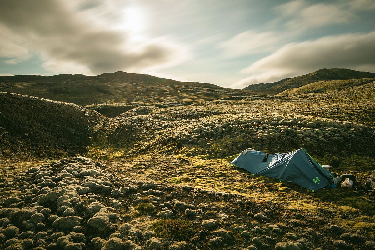 Camping in Iceland is very popular. But it pays off to take two pairs of hiking boots for Iceland