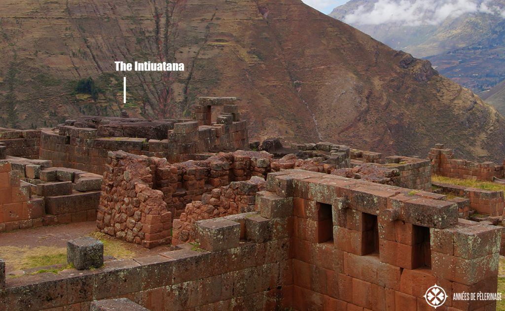 The intiuatana stone in Pisac, Peru (inside the temple of the sun)