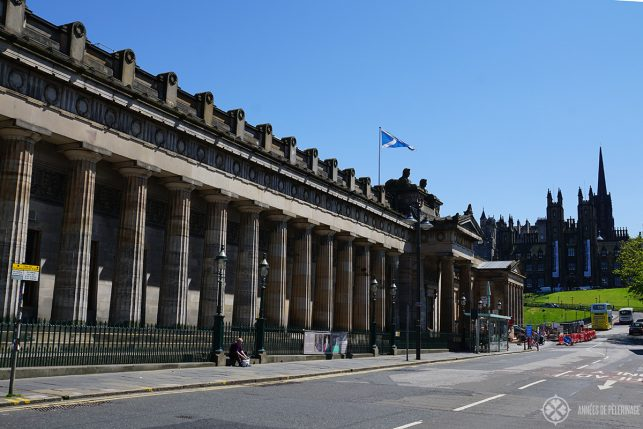 The Scottish National Galleries in Edinburgh - a wonderful alternative for a rainy day