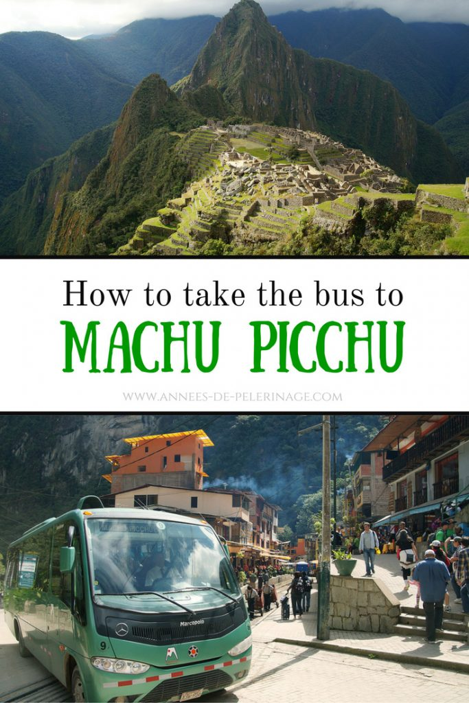 A guide on how to take the bus to Machu Picchu. This is by far the cheapest way to get to Machu Picchu. But it is also taking the longest time. Click for more information.
