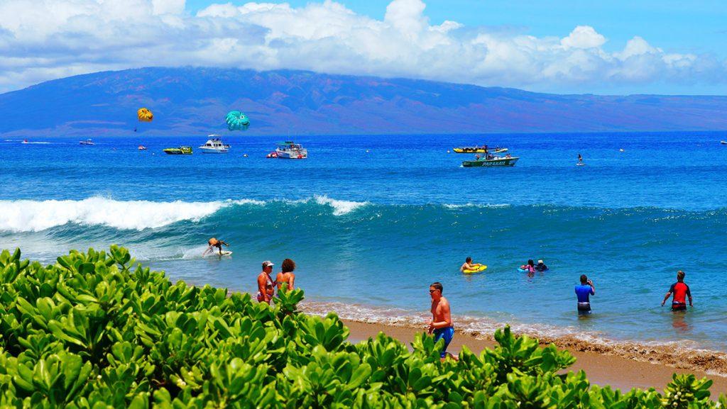 Ka'anapali Beach, Maui, Hawai'i