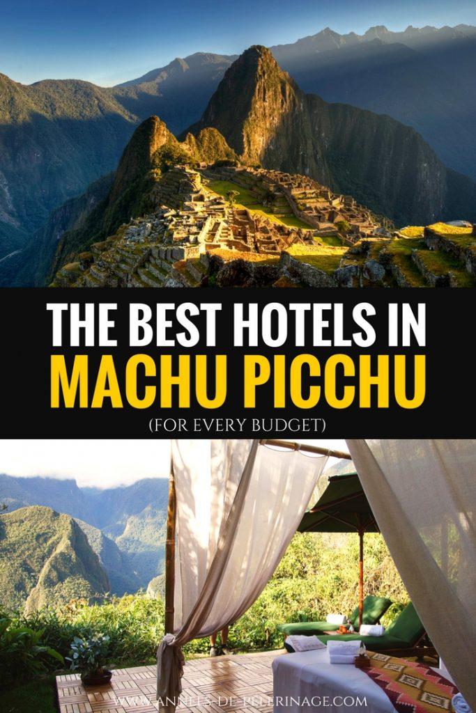 Star Hotels Machu Picchu Peru