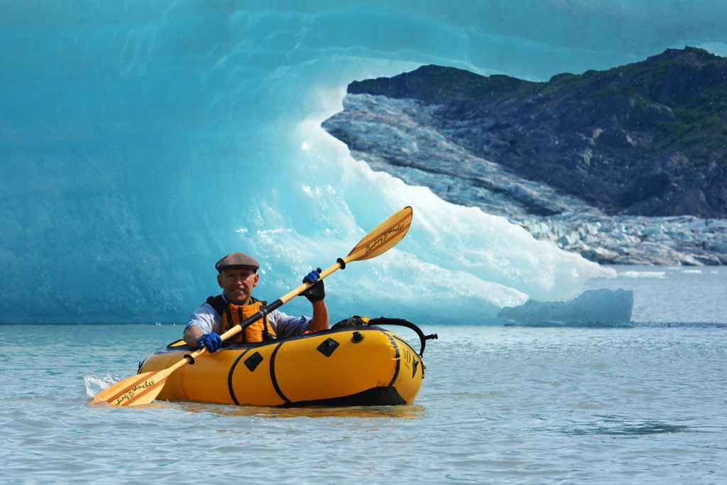 Kayaking in Alaska, USA