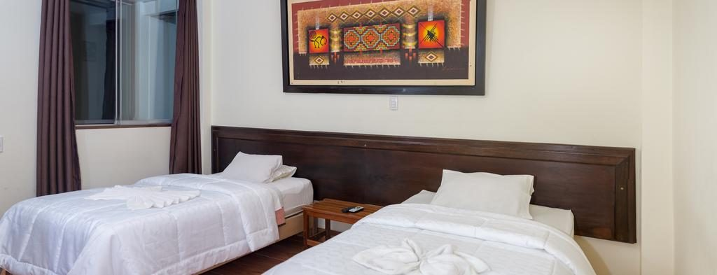 Rooms of the Tayto hostel in Machu Picchu