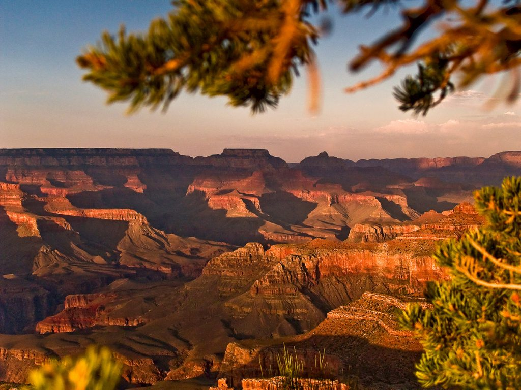 Grand Canyon North-East from Hopi Point at Sunset