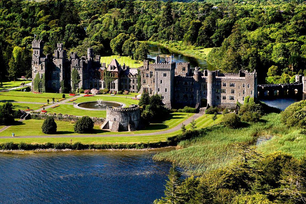 Ashford Castle luxury hotel near Galway, Ireland