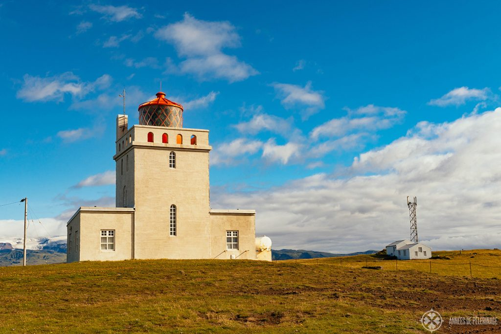 The Dyrholaey light house near Vík in Iceland