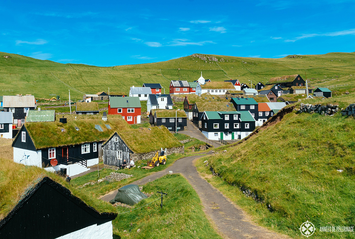 village mykines faroe islands