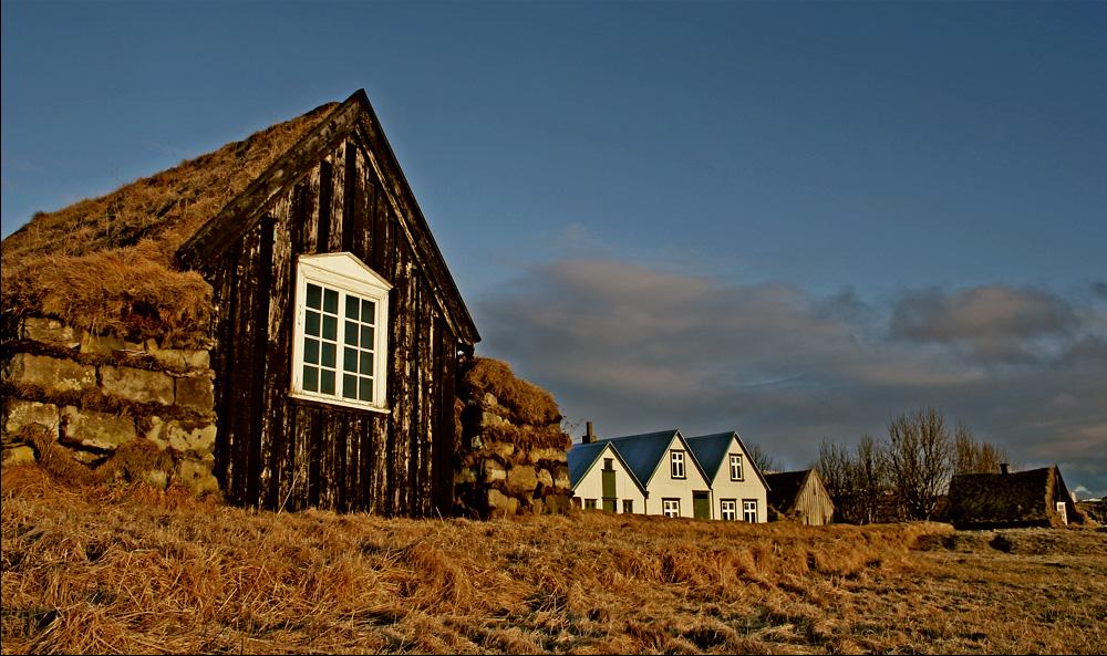 Árbæjarsafn Open Air Museum a bit outside of Reykjavik, Iceland