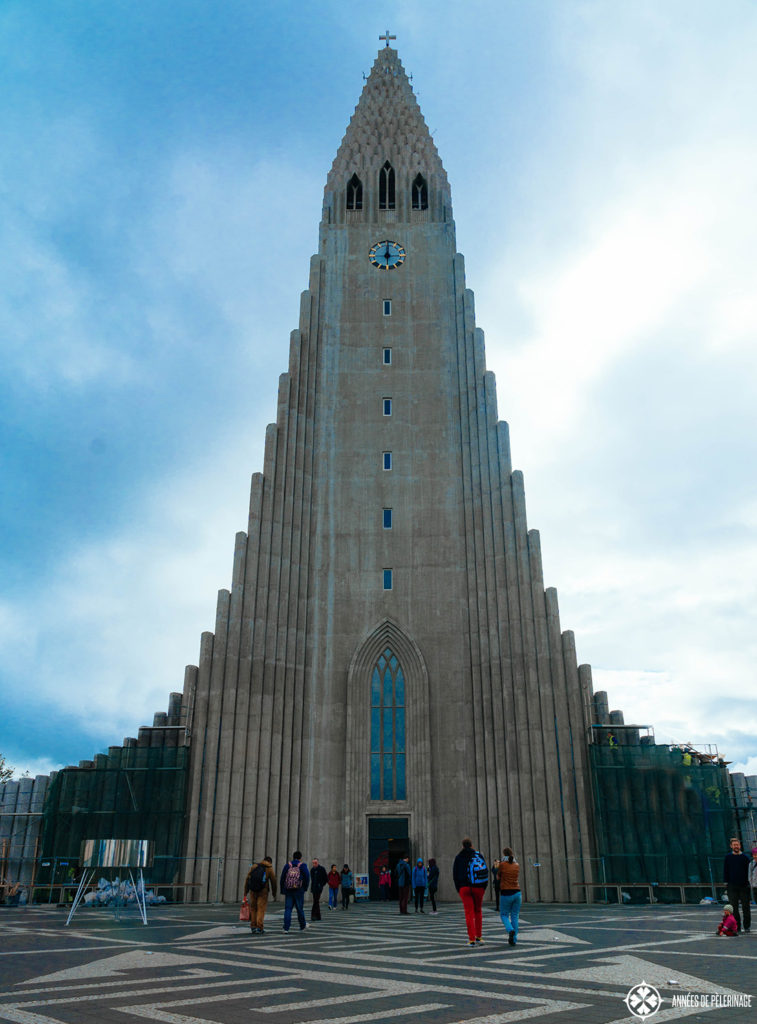 Hallgrimskirkja in Reykjavik's city center