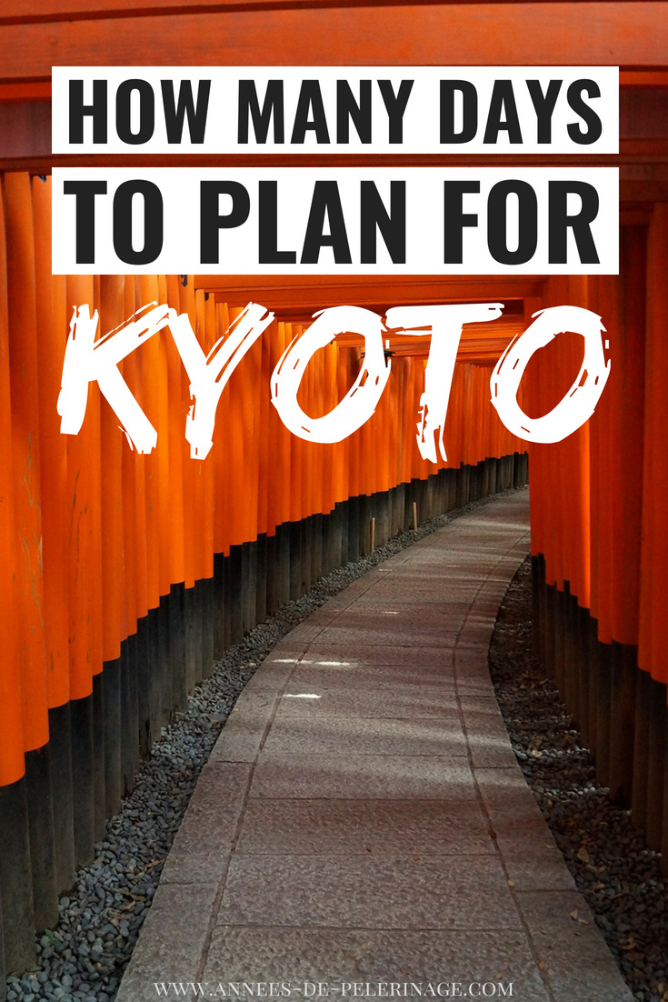 How many days for Kyoto are enough to see all the tourist attractions? 4 days in Kyoto are usually enough, though some do it all in 24 hours. Here's a detailed travel guide to show you how much you can see with how many days. #kyoto #japan #travel