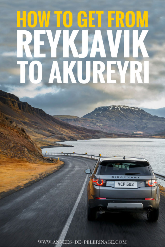 How to get from Reykjavik to Akureyri, Iceland. Driving the ring road, taking the f-road, are the most comon options. But you can also take the plane from Reykjavik to Akureyri or even a helicopter right. Click for more information and what to see on the road from Reykjavik to Akureyri.