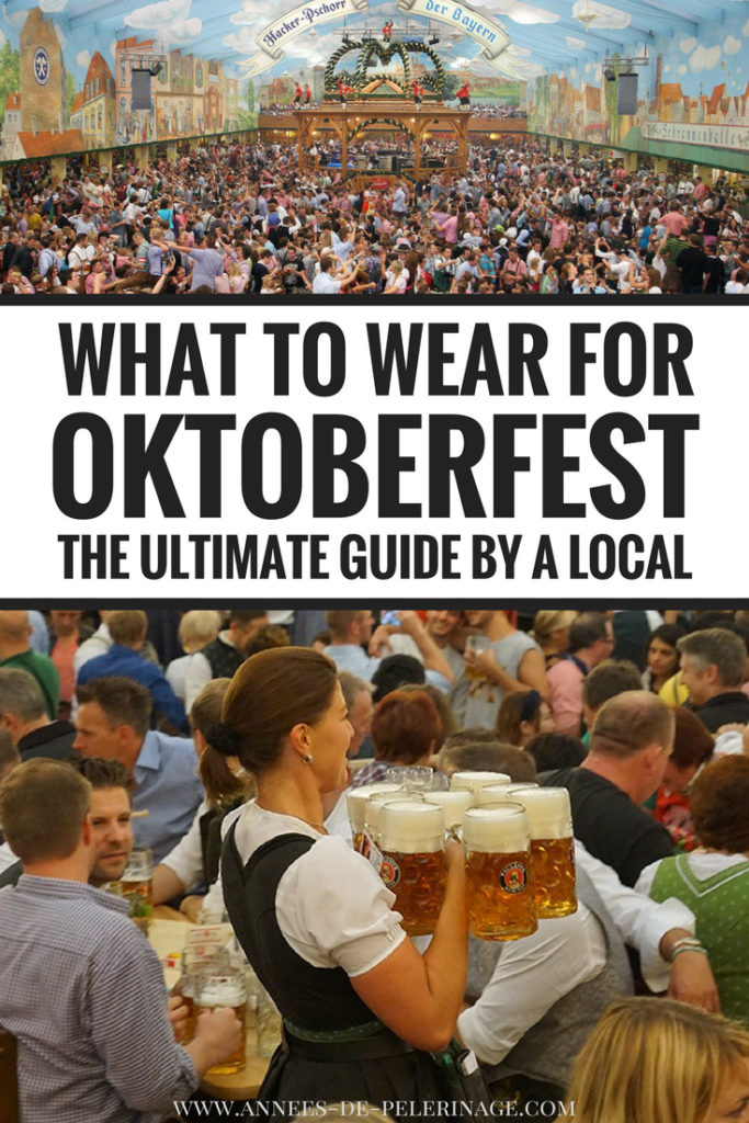 What to wear for Oktoberfest - the ultimate guide to authentic german oktoberfest costumes and everything you need to know about dirndl, lederhosen and how to blend in at the Wiesn in Munich, Germany.