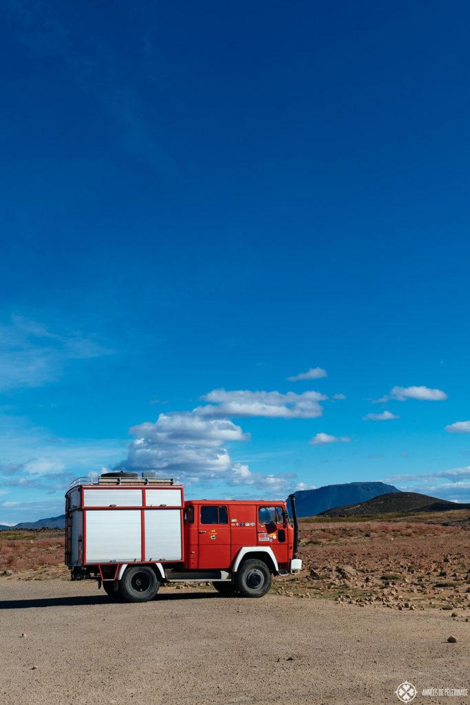 from reykjavik to akureyri iceland in a camper van