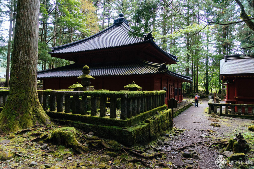 Kaizando of Shodo Shonin in Nikko National Park
