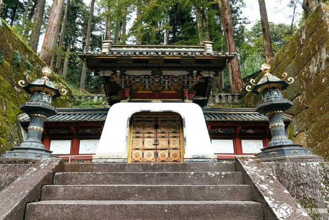 The mausoleum of third Shogun Iemtisu in Nikko, Japan