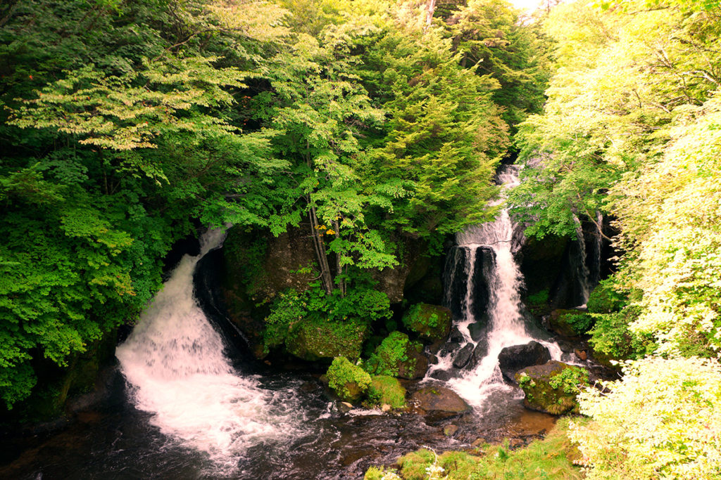Ryuzu Falls in Nikko, just a short day trip from Tokyo, Japan