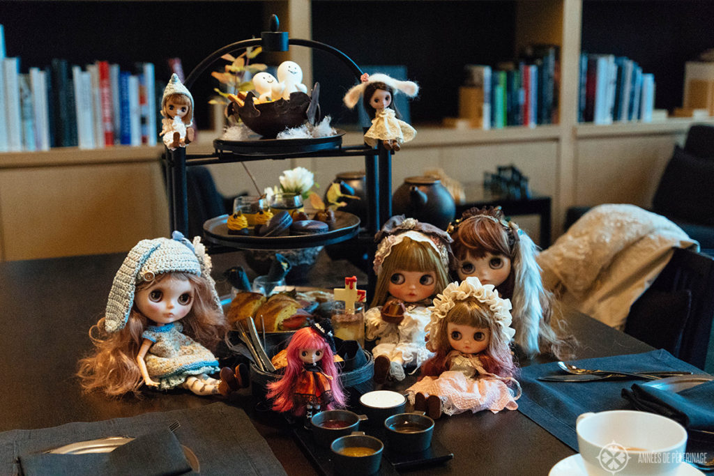 Halloween inspired afternoon tea at the Aman Tokyo