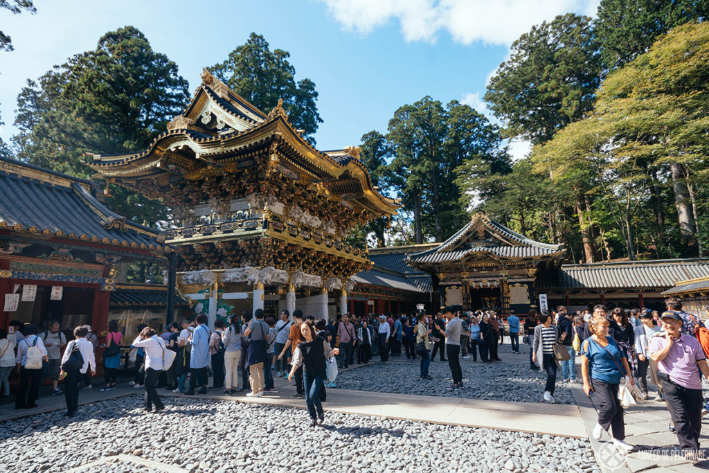 The main gate of the Toshogu Shrine in Nikko National Park