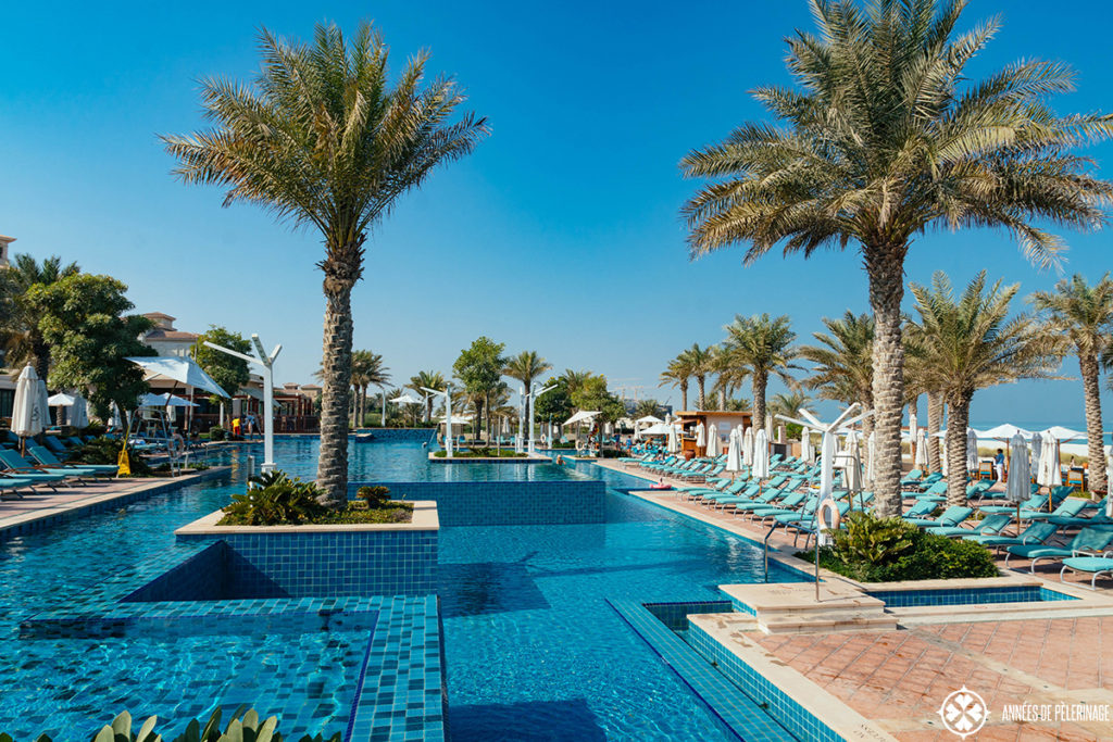 Pool of the St. Regis Saadiyat Island, Abu Dhabi