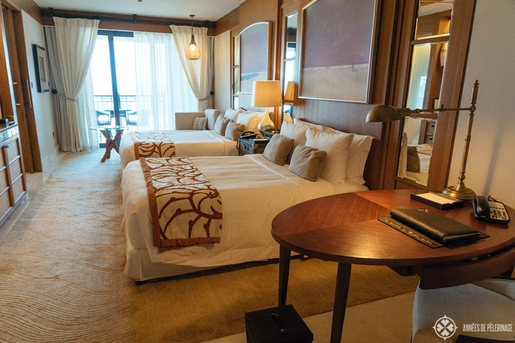 Rooms of the St. Regis Saadiyat Island