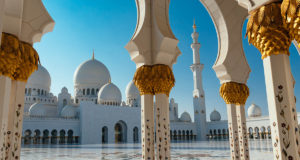 The Sheikh Zayed Grand Mosque - one of the best things to do in Abu Dhabi