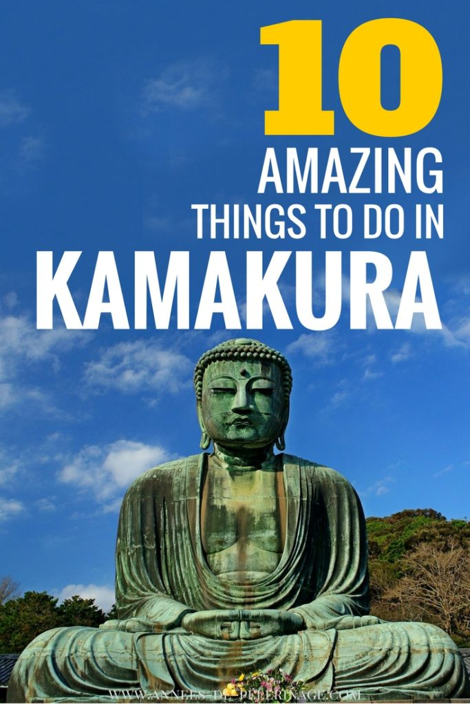 The 10 best things to do in Kamakura Japan. Visit the great buddha and Enoshima - there are so many points of interest in Kamakura. My favorite tourist attractions is Hase-dera temple, though you can go surfing at the beach as well. Click for my Kamakura travel guide and find out how to get from Tokyo to Kamakura on a day trip.