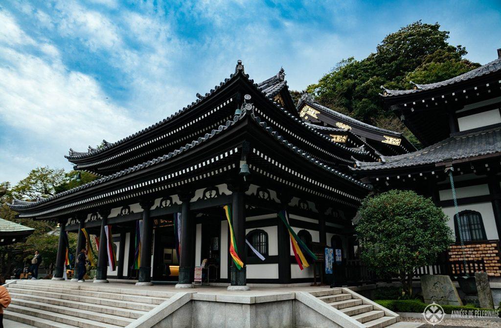Hase-dera temple in the hills of Kamakura, Japan