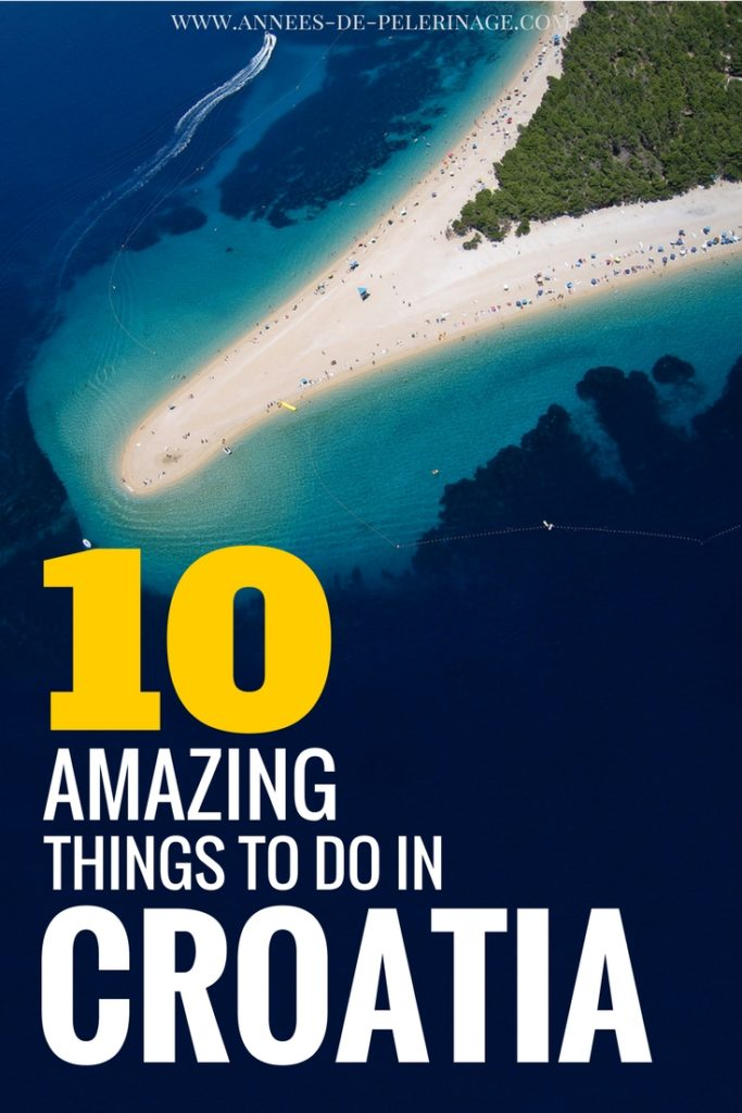 The 10 best things to do in Croatia. A comprehensive list with the best tourist attractions in Croatia and everything you need to plan your perfect Croatia itinerary. Not a full travel guide but an inspirational list with tons of beautiful pictures. Click for more information on Croatia travel.