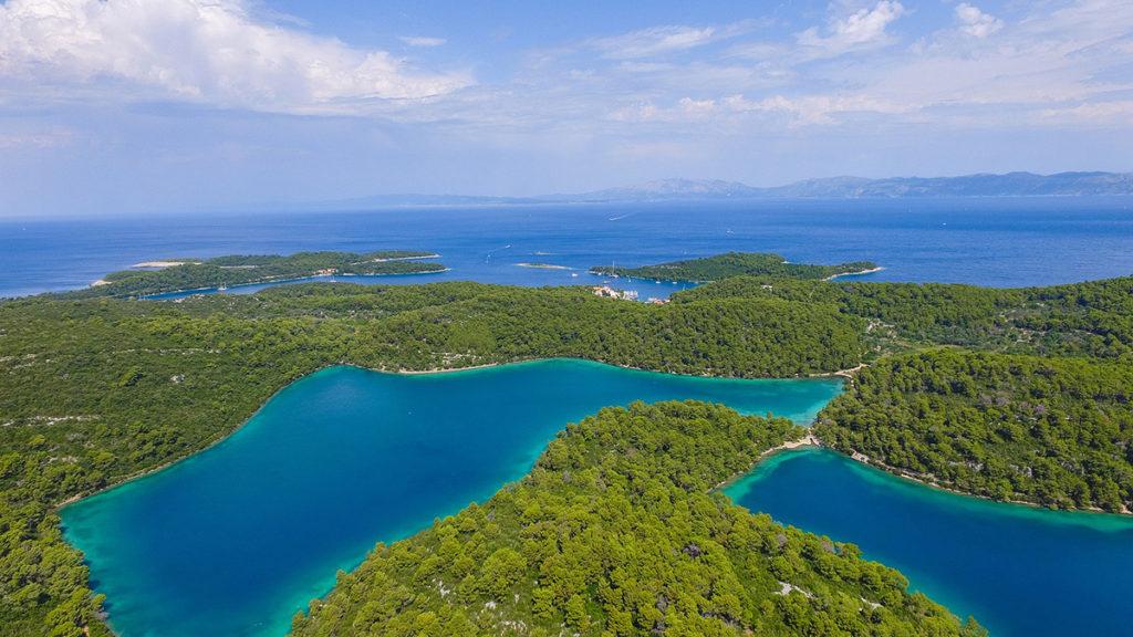 The coastal national parks in Croatia - the most beautiful part of Croatia