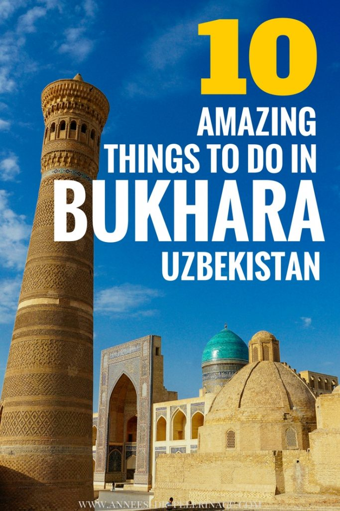 A massive list of the 10 best things to do in Bukhara, Uzbekistan. The ancient city on the silk road has so many tourist attractions and beautiful landmarks you can easily spend one day in Bukhara or even three. Where to stay and what is the best time to visit Bukhara - this Bukhara travel guide has your answers. click for more.