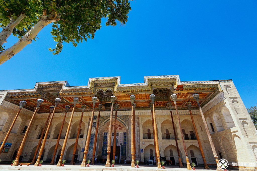 Bolo Haouz Mosque bukhara uzbekistan