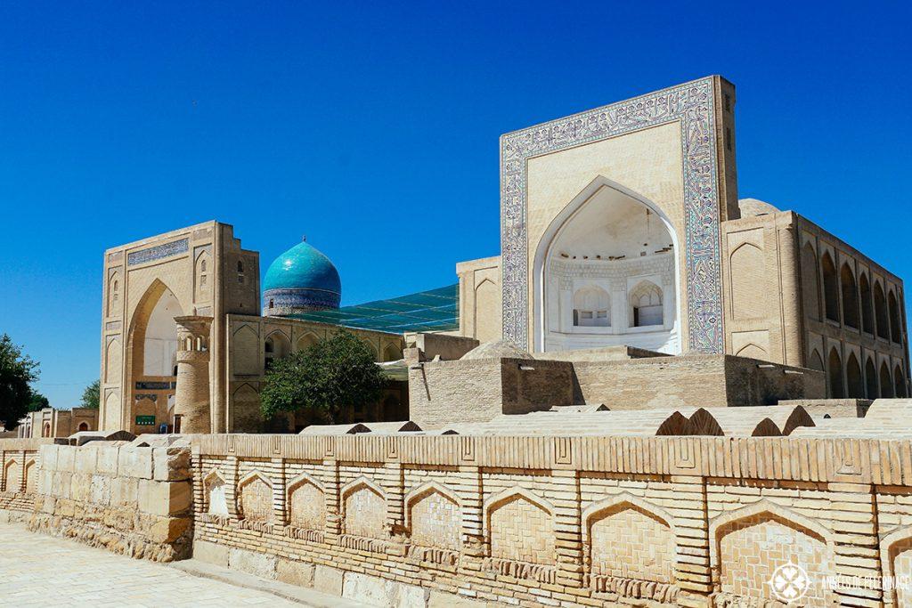 Chor-Bakr Necropolis bukhara uzbekistan