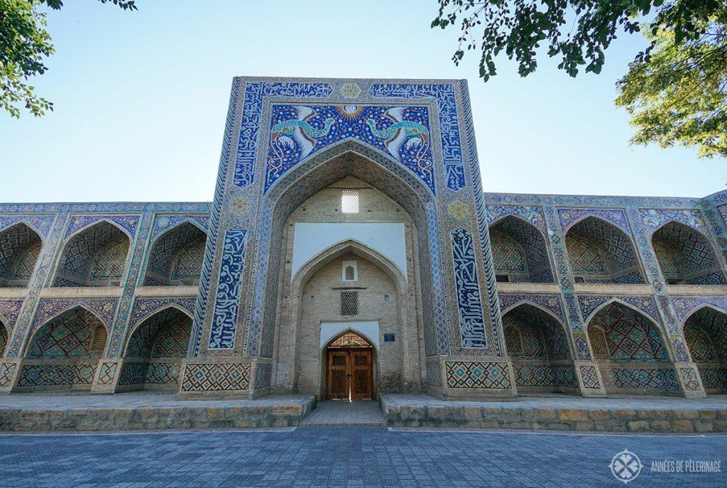 Madrasah of Nadrid Divan-begi bukhara uzbekistan
