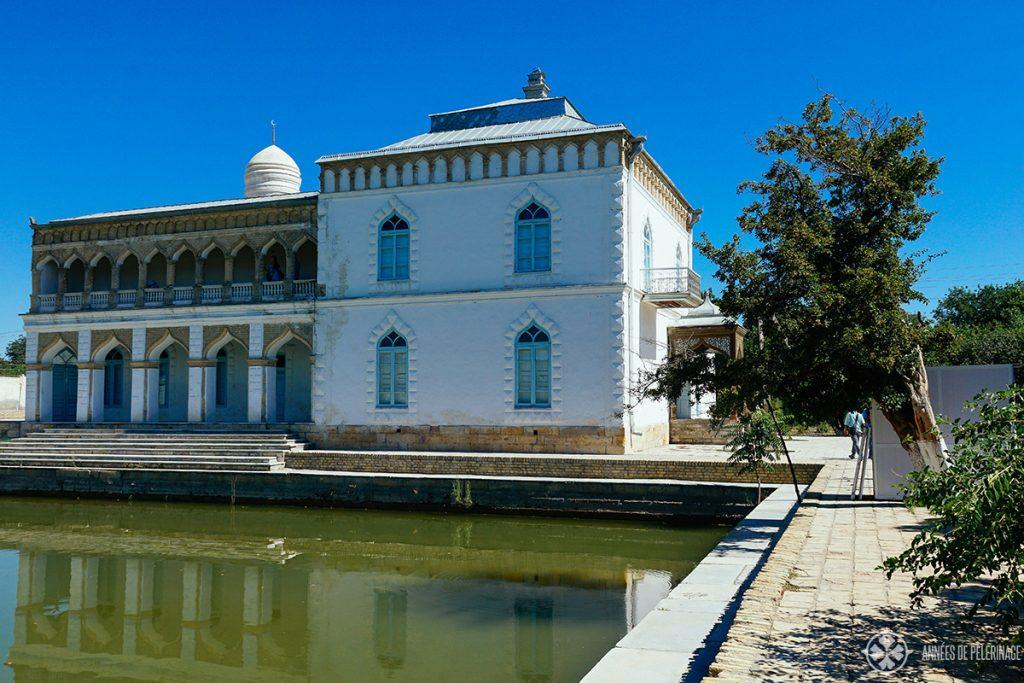 Sitorai Mokhi-Khosa Palace bukhara uzbekistan