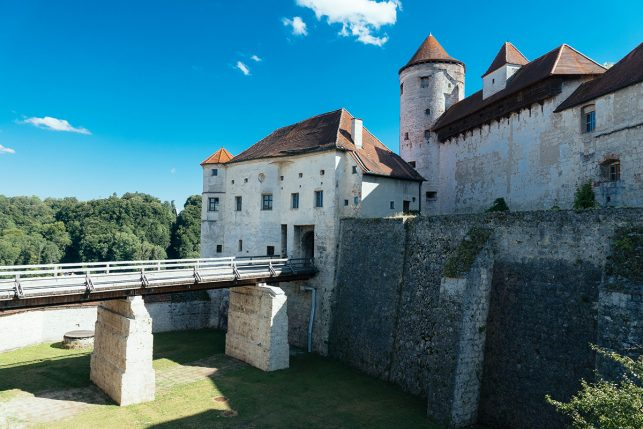 Main fortress of Burghausen castle